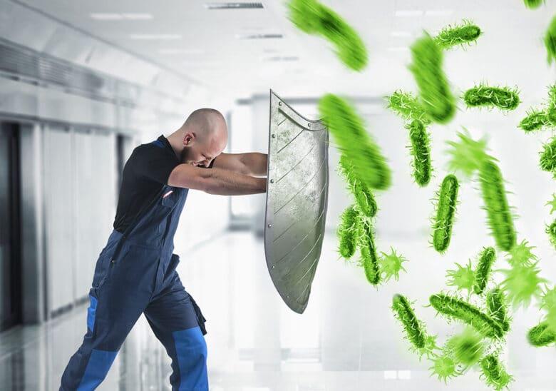 PolVita, protection contre les bactéries