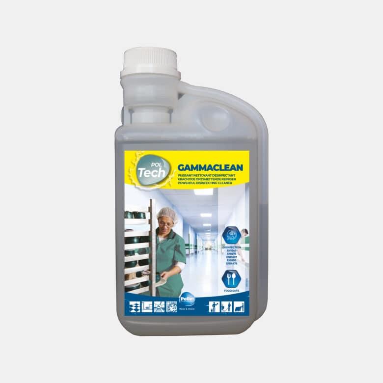 PolTech Gammaclean nettoyant désinfectant toutes surfaces