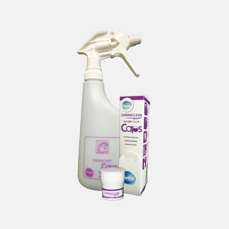 PolTech Gammaclean Caps nettoyant désinfectant toutes surfaces