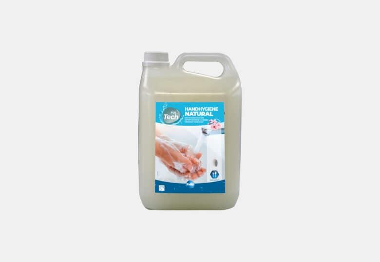 PolTech Handhygiène Natural savon doux pour l'hygiène des mains