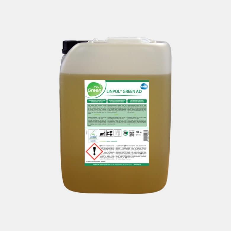 PolGreen Linpol Green savon liquide pour tous sols en dosage automatique