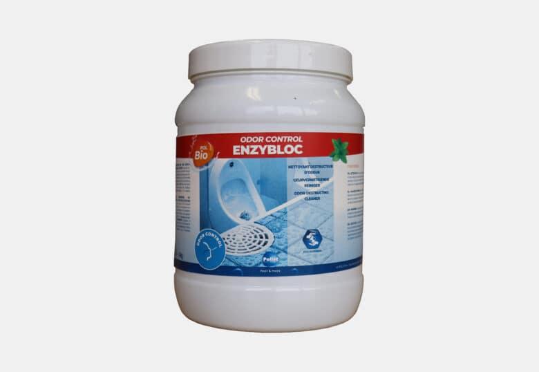 PolBio Odor Control Enzybloc bloc détartrant urinoirs