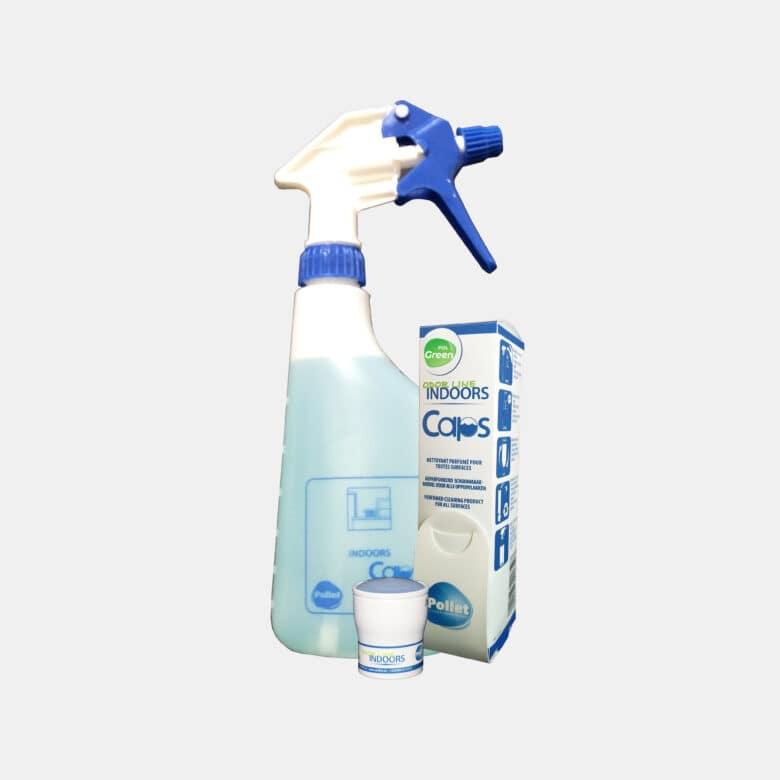 PolGreen Odor Line Indoors produit nettoyant toutes surfaces surodorant en caps