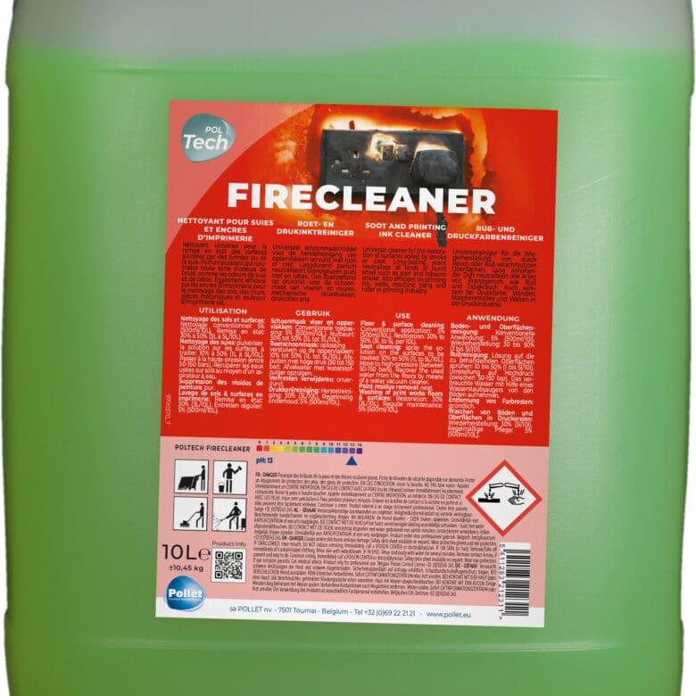 PolTech Firecleaner nettoyant surodorant suies et encres