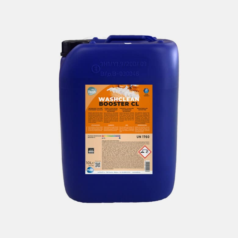 PolTech Washclean Booster CL détergent chloré lave-vaisselle