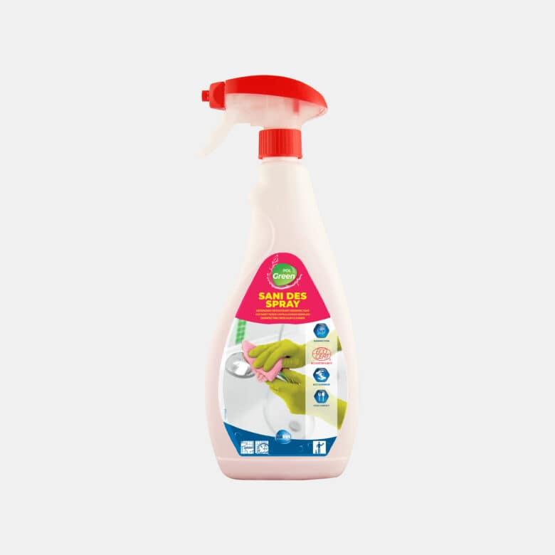 PolGreen Sani DES spray détartrant désinfectant pour sanitaires