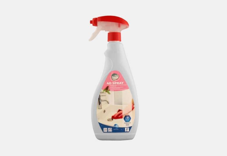 PolTech 4D Spray détergent détartrant désinfectant en spray