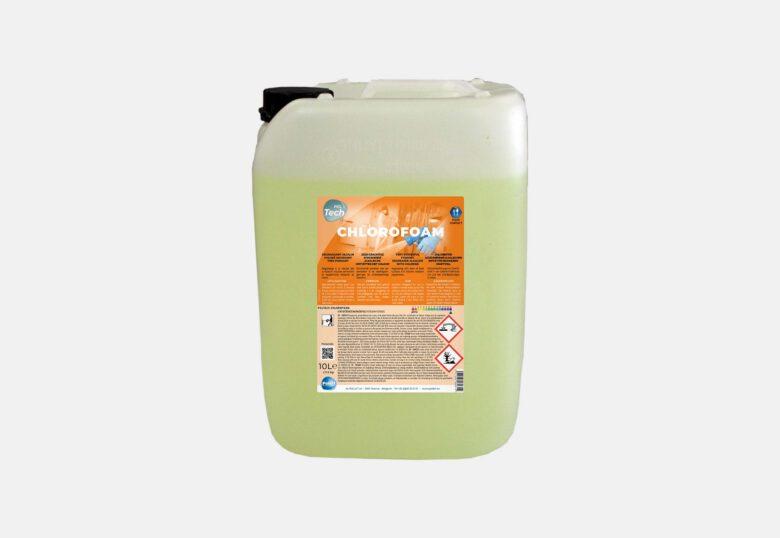 PolTech Chlorofoam dégraissant chloré moussant pour milieu alimentaire