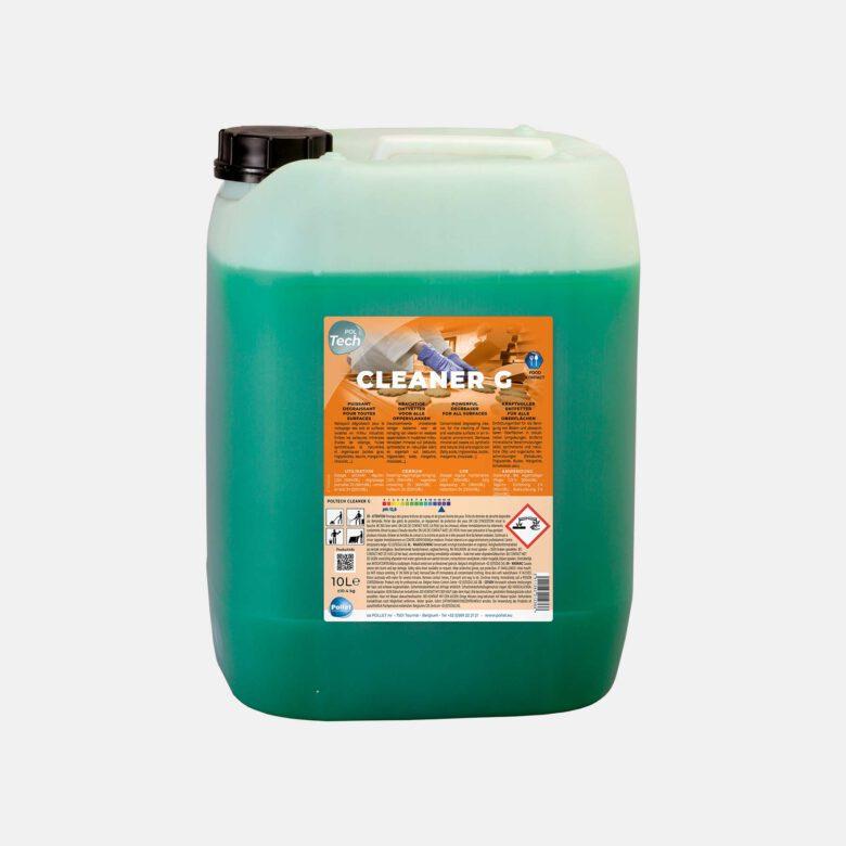 PolTech Cleaner G puissant dégraissant pour milieu industriel