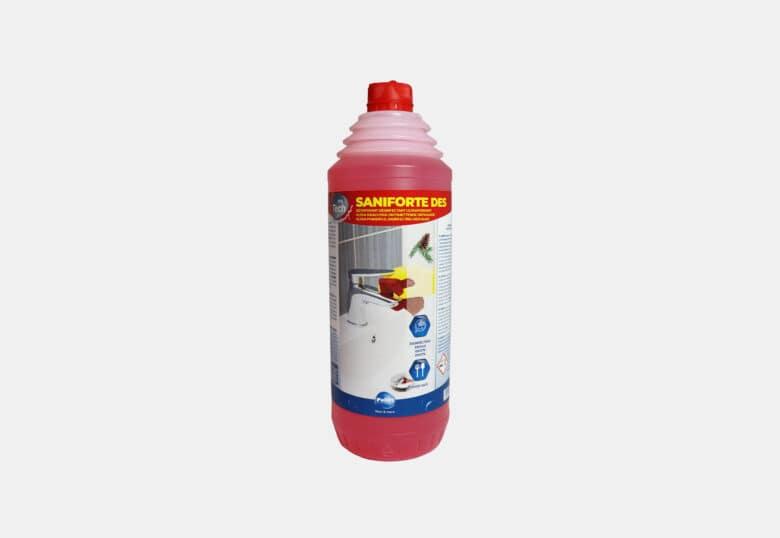 PolTech Saniforte DES gel détartrant désinfectant